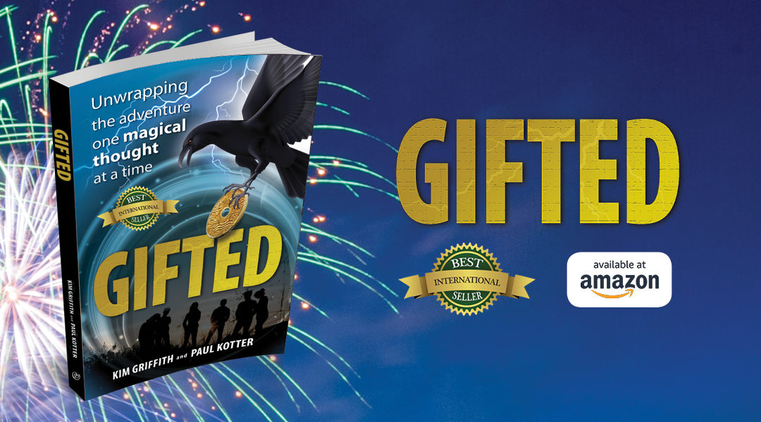 We did it! Gifted is now a #1 Amazon Best Seller & International Best Seller!